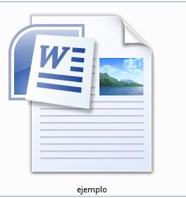 Extensión de archivo