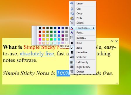 simply stick notes