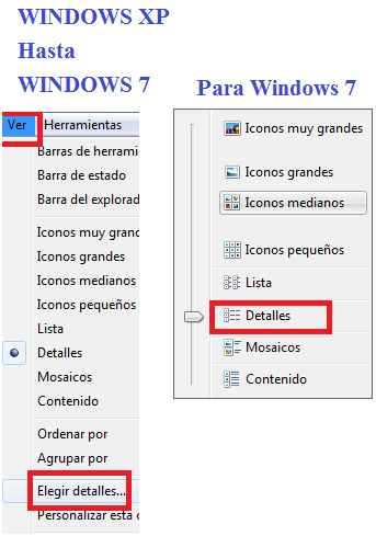 explorador de windows ver