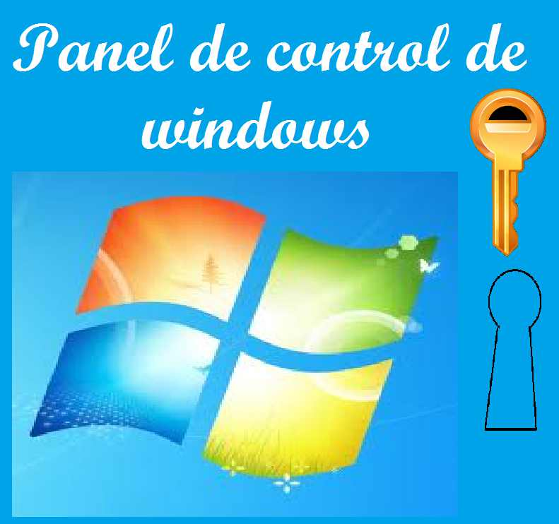 panel de control de windows 7