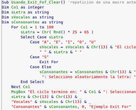 como sumar cadenas de texto en macros usando el simbolo ampersar