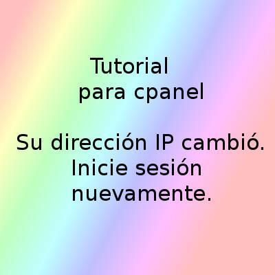 cpanel-error-ip-cambio