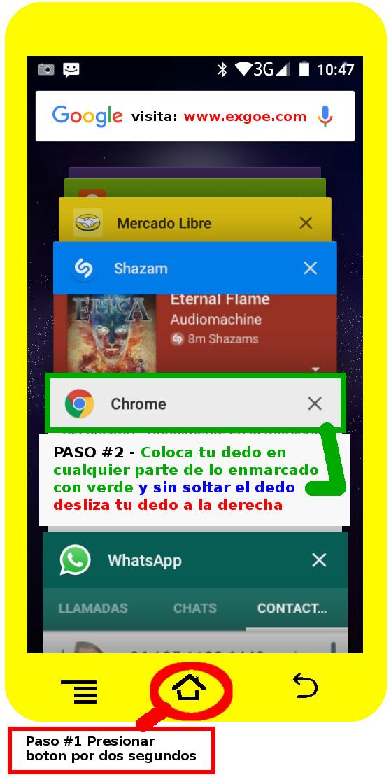 cerrar app android